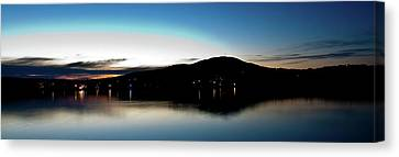 Awanadjo Across The Water Canvas Print by Greg DeBeck