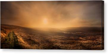 High Park Fire Canvas Print - Axe Edge by Andy Astbury