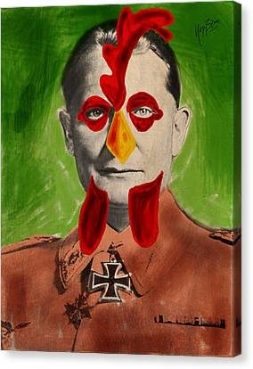Ayam Goering Canvas Print by Nop Briex