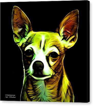 Aye Chihuahua  Canvas Print by James Ahn