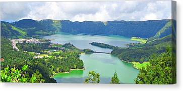 Canvas Print - Azores-lakes by Jenny Senra Pampin