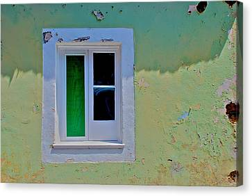 Azores Window Canvas Print by Eric Tressler