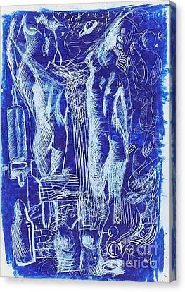 Azul 08 Canvas Print by Marcos