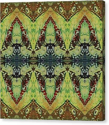 Azuraz Buff Tiled Canvas Print by Sue Duda