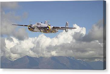 B25 - Corsica Canvas Print by Pat Speirs