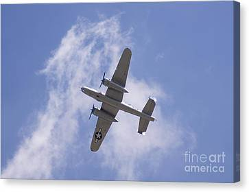 B25 Canvas Print by Robert E Alter Reflections of Infinity