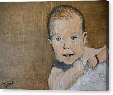Baby Jake Canvas Print