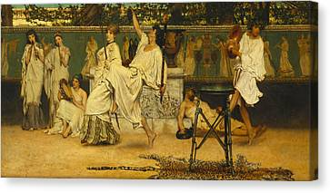Bacchanal Canvas Print by Sir Lawrence Alma-Tadema