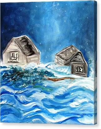 Back Cover Canvas Print by Carol Allen Anfinsen
