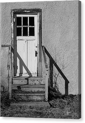 Back Door Canvas Print by Vicki Pelham