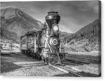 Back In Time Canvas Print by Ken Smith