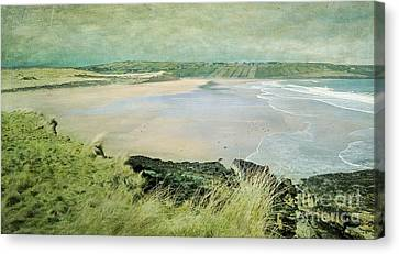 Back Strand 2 Canvas Print by Marion Galt