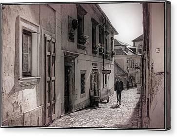 Back Street Boy Canvas Print