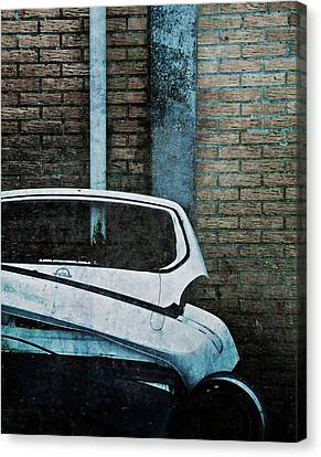 Back To The Wall Canvas Print by Odd Jeppesen