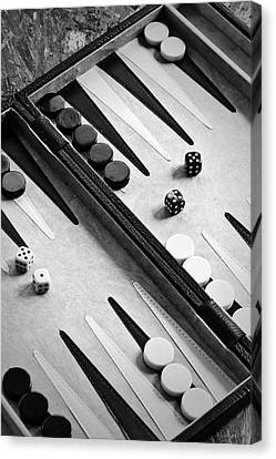 Backgammon Canvas Print