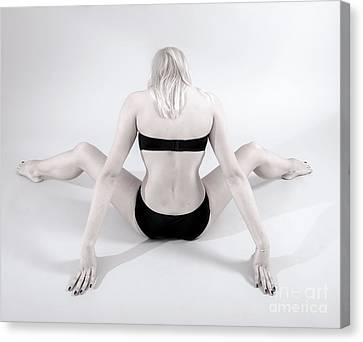 Backside Canvas Print by Pierre-jean Grouille