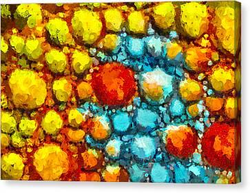 Bacteria 1 Canvas Print