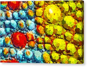 Bacteria 3 Canvas Print