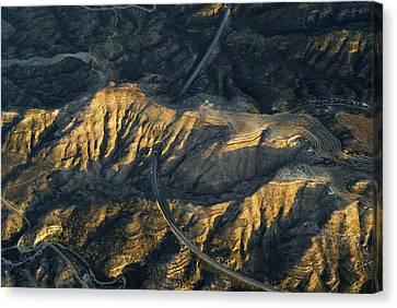 Bad Lands Granada Spain Canvas Print by Guido Montanes Castillo