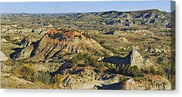 Bad Lands  Canvas Print by Michael Peychich