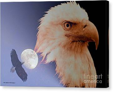 Bad Moon Rising Canvas Print