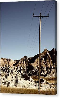 Badlands 1919 Canvas Print by Holger Ostwald