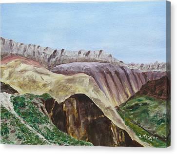 Badlands II Canvas Print