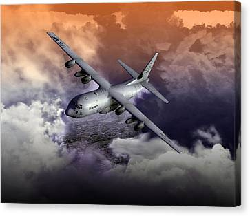 Baghdad Express 01 Canvas Print by Mike Ray