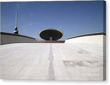 Baghdad, Iraq - The Ramp That Leads Canvas Print by Terry Moore
