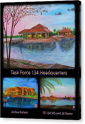 Baghdad Memories Canvas Print by Michael Matthews