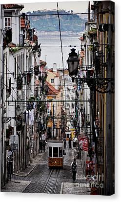 Bairro Alto - Lisbon Canvas Print by Armando Carlos Ferreira Palhau