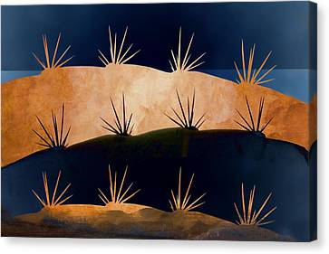 Baja Landscape Number 1 Canvas Print by Carol Leigh