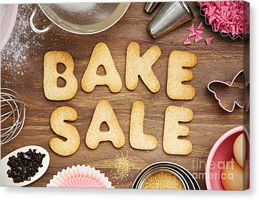 Bake Sale Cookies Canvas Print by Ruth Black