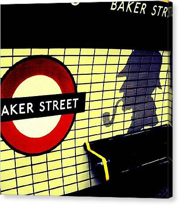 Baker Street Station, May 2012 | Canvas Print by Abdelrahman Alawwad