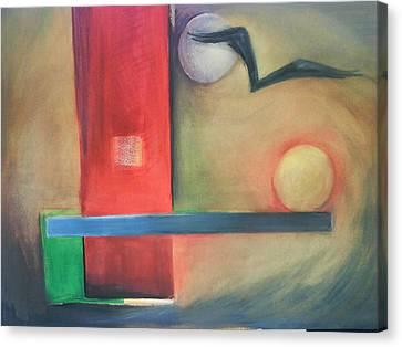 Balance Canvas Print by Jan Swaren