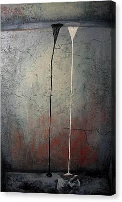 Balance Canvas Print by Janelle Schneider