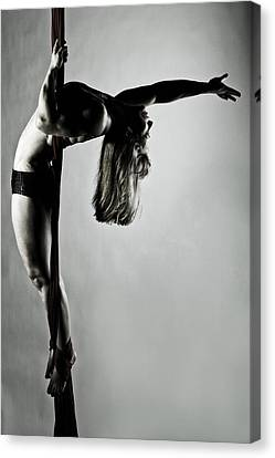 Balance Of Power 2012 Series 4 Canvas Print by Monte Arnold