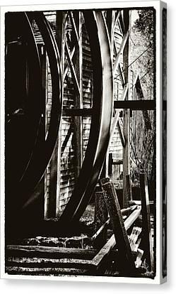 Bale Grist Mill Canvas Print by Laszlo Rekasi