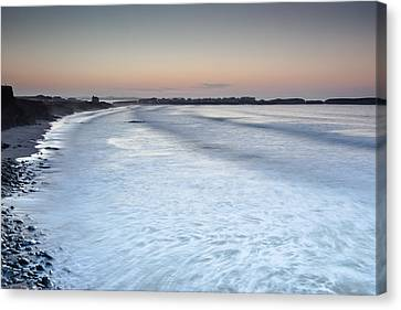 Canvas Print featuring the photograph Baleal I by Edgar Laureano