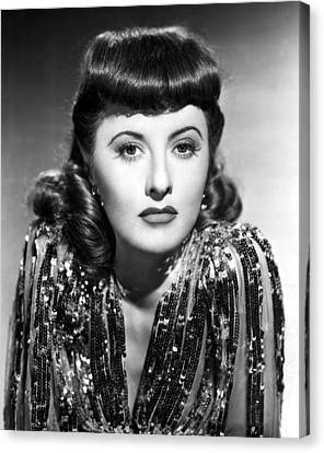 1941 Movies Canvas Print - Ball Of Fire, Barbara Stanwyck, 1941 by Everett