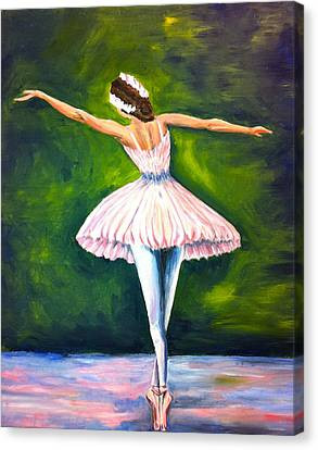 Ballerina Canvas Print by Tiffany Albright