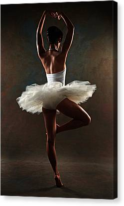 Ballerina Canvas Print by Tonino Guzzo