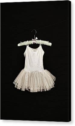 Tulle Canvas Print - Ballet Dress by Joana Kruse