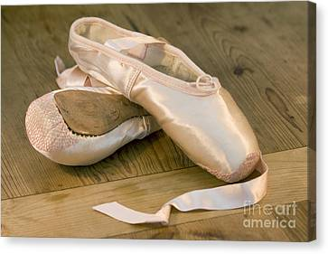 Ballet Shoes Canvas Print by Jane Rix