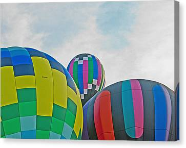 Balloon Cluster Canvas Print by Carolyn Meuer-Pickering of Photopicks Photography and Art