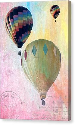 Balloon Flight Canvas Print