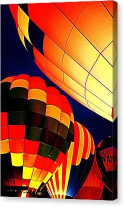 Balloon Glow 1 Canvas Print by Marty Koch