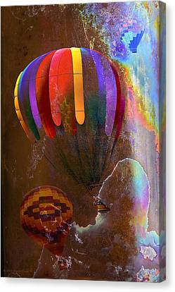 Balloon Racing Canvas Print