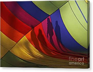 Balloon Shadows Canvas Print