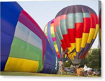 Balloons Canvas Print by Betsy Knapp